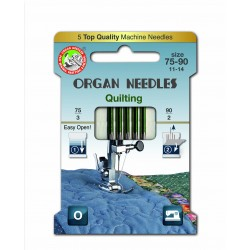 Machine Needles ORGAN QUILTING 130/705H - Assort - 5pcs/