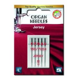 Machine Needles ORGAN JERSEY 130/705H - 80 - 5pcs/plastic box/card