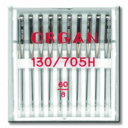 Machine Needles ORGAN UNIVERSAL 130/705 H - 60 - 10pcs/plastic box