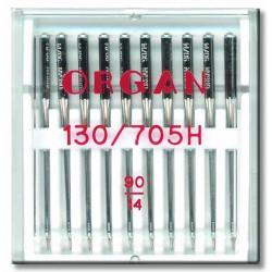 Machine Needles ORGAN UNIVERSAL 130/705 H - 90 - 10pcs/plastic box