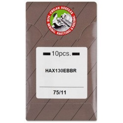 Industrial Machine Needles ORGAN HAx130 EBBR - 75/11 - 10pcs/envelope